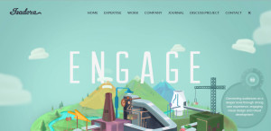 isadora top rated web design firm homepage