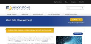 moonstone expert web design firm services