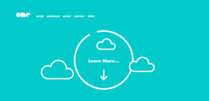 onedesign amazing web design firm homepage