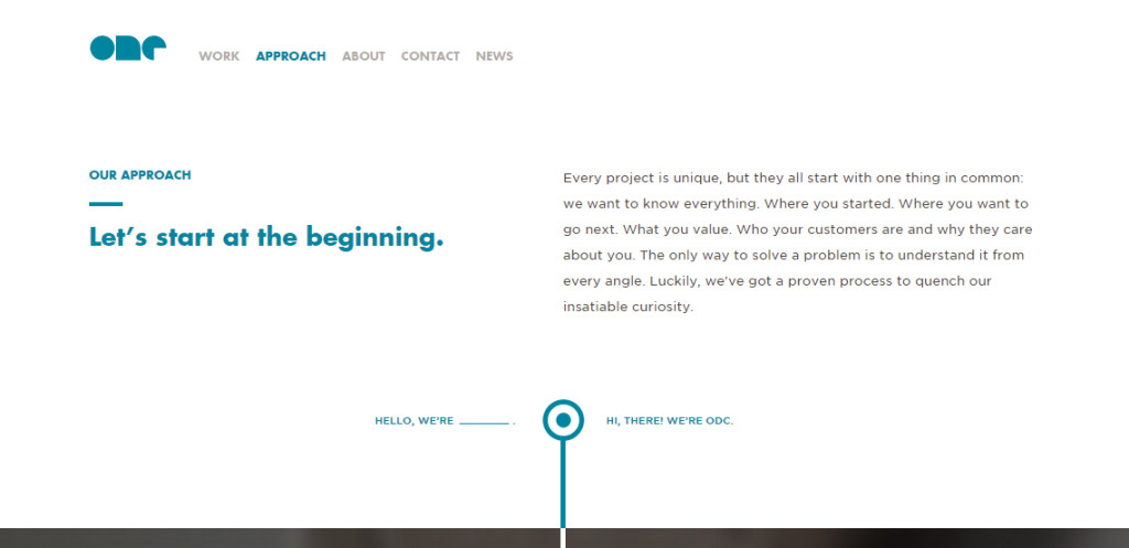 onedesign amazing web design firm approach