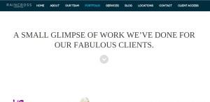 raincross marketing top grade web design firm work