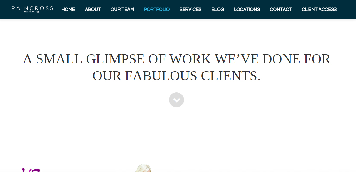 raincross marketing top grade web design firm work