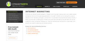 straightnorth prime web design company services