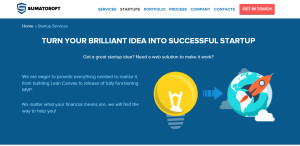 sumatosoft excellent web design firm startup services