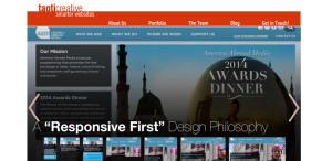 taoticreative supreme web design firm homepage