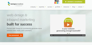 tempocreative great web design firm homepage