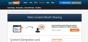 webtalent excellent web design firm content strategy