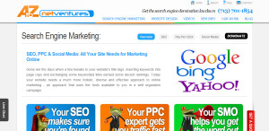 A to Z Net Ventures prime web design firm overview