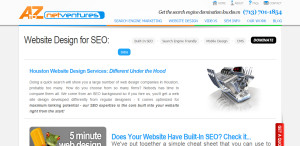 A to Z Net Ventures prime web design firm seo