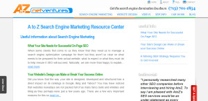 A to Z Net Ventures prime web design firm resource