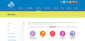 didit outstanding web design firm services