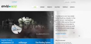 envisionext expert web design firm homepage