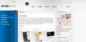 envisionext expert web design firm portfolio