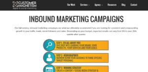 customer magnetism superb seo web design services