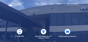 drumbeat marketing top seo web design contact