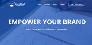drumbeat marketing top seo web design services
