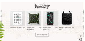 ghostly ferns amazing responsive web design products