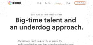 huemor awesome web design company