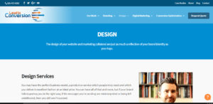 lead to conversion outstand seo web design firm design service