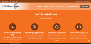 lead to conversion outstand seo web design firm services