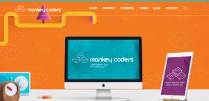 monkey coders elite web design home page
