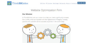 thinkbigsites high grade web design about