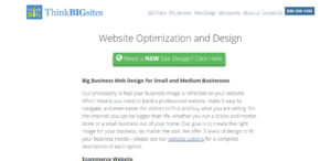 thinkbigsites high grade web design web design