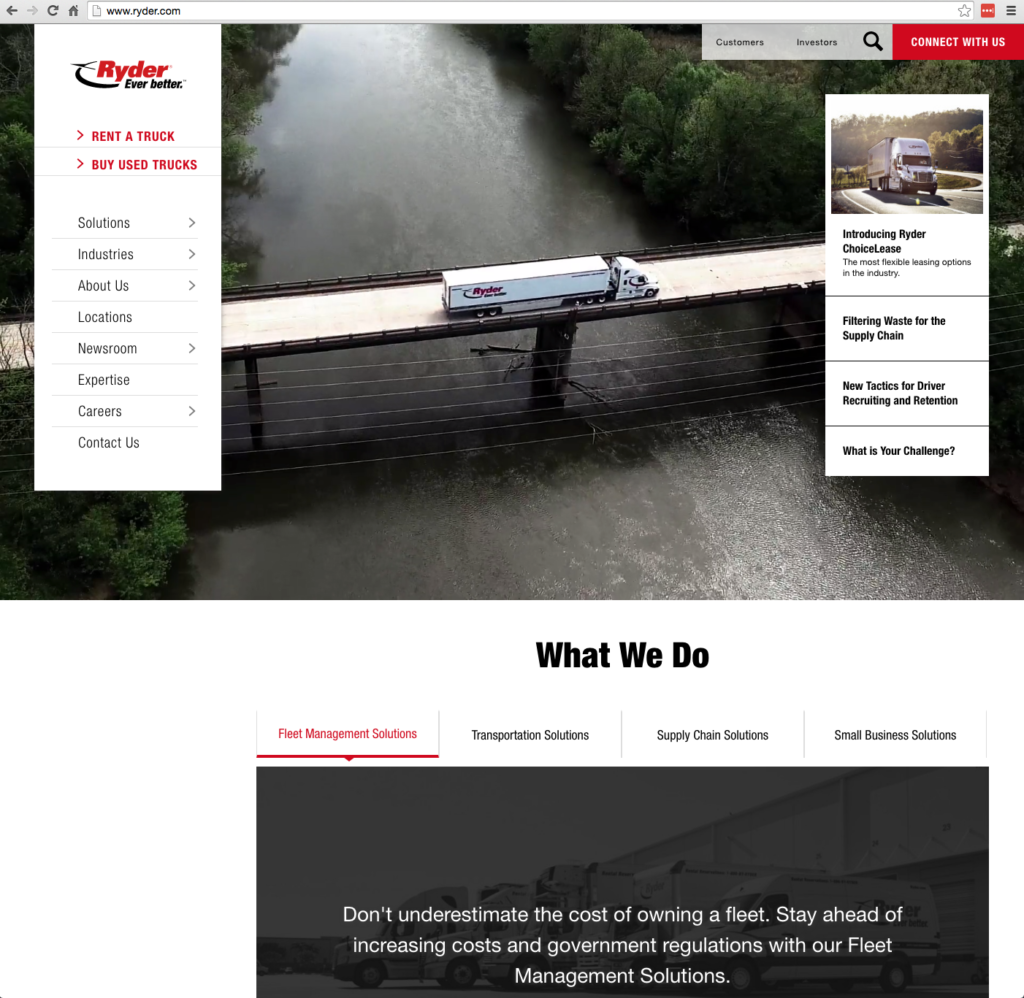 After website redesign