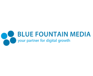Blue Fountain Media Best Web Design Company Logo