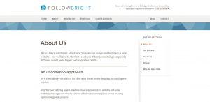 followbright expert web design firm about us