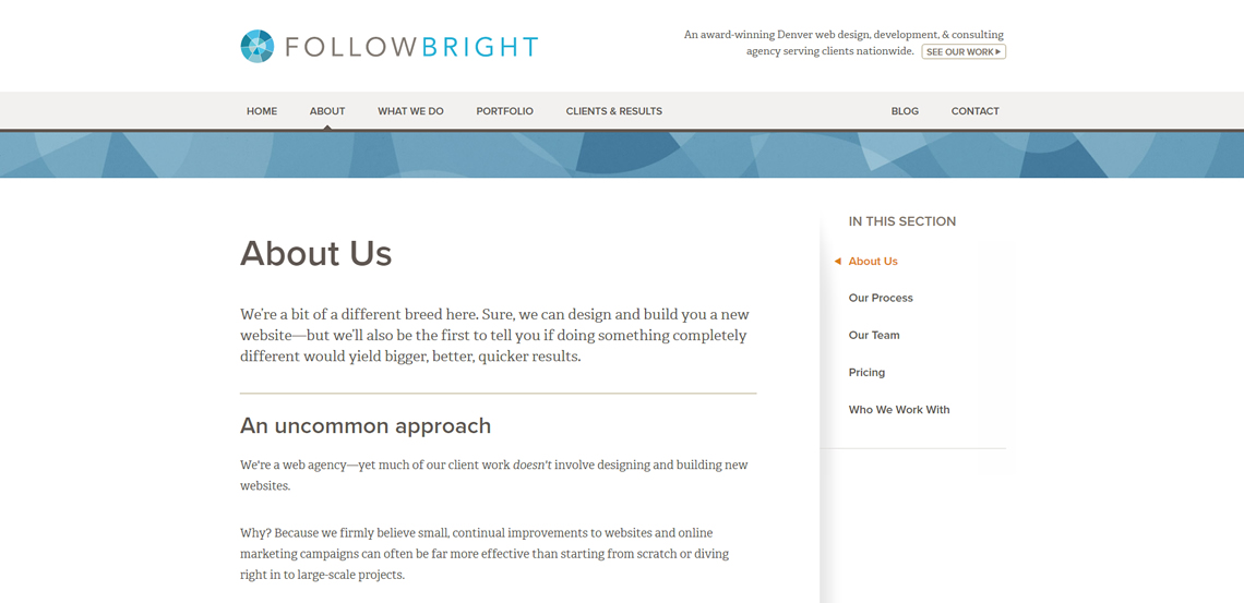 followbright expert web design firm about us