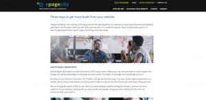 epagecity awesome web design firm digital marketing