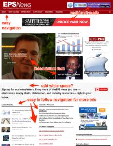 EPSNews Redesign Critique