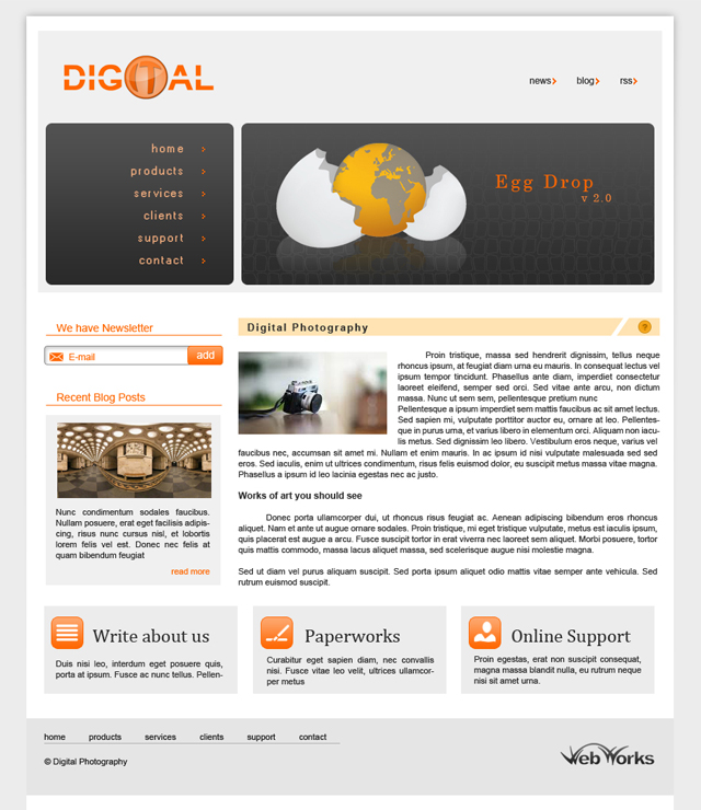 web-design-template