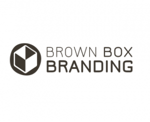 brown box branding responsive web design