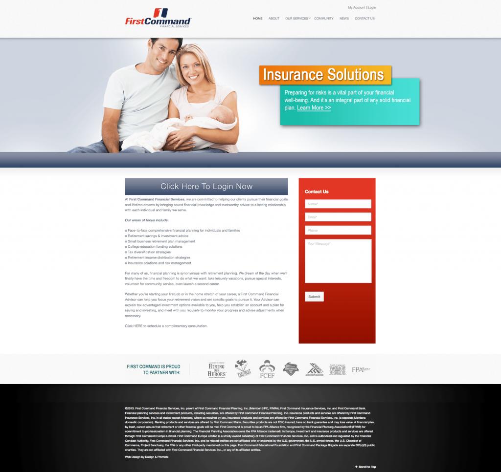 web-design-development-chicago-first-command