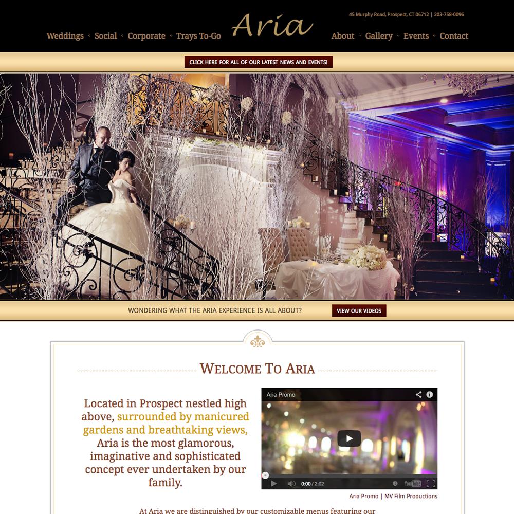 aria-banquets-web-design