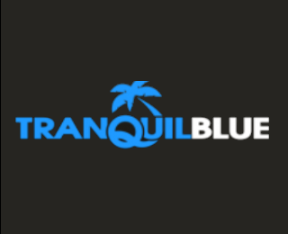 tranquil blue web firm logo