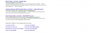 New Google Sites Launched Google Search