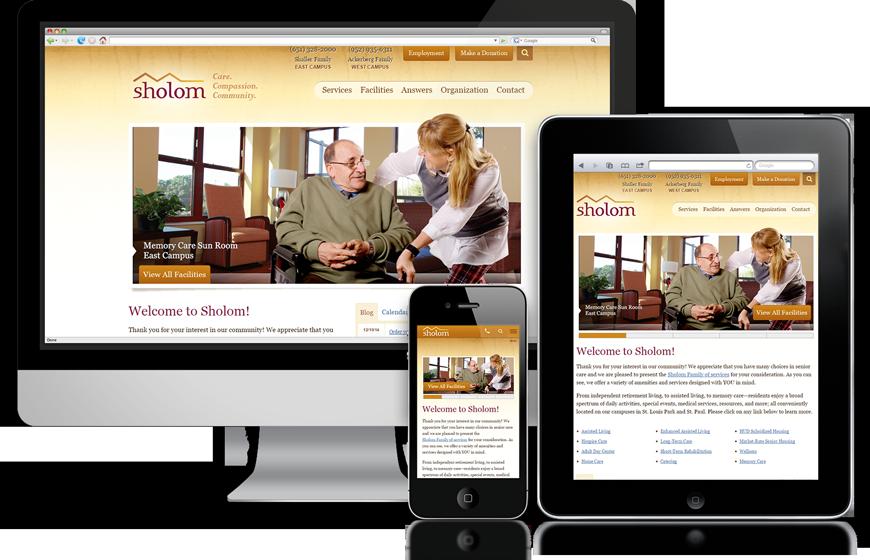 plaudit design website responsive