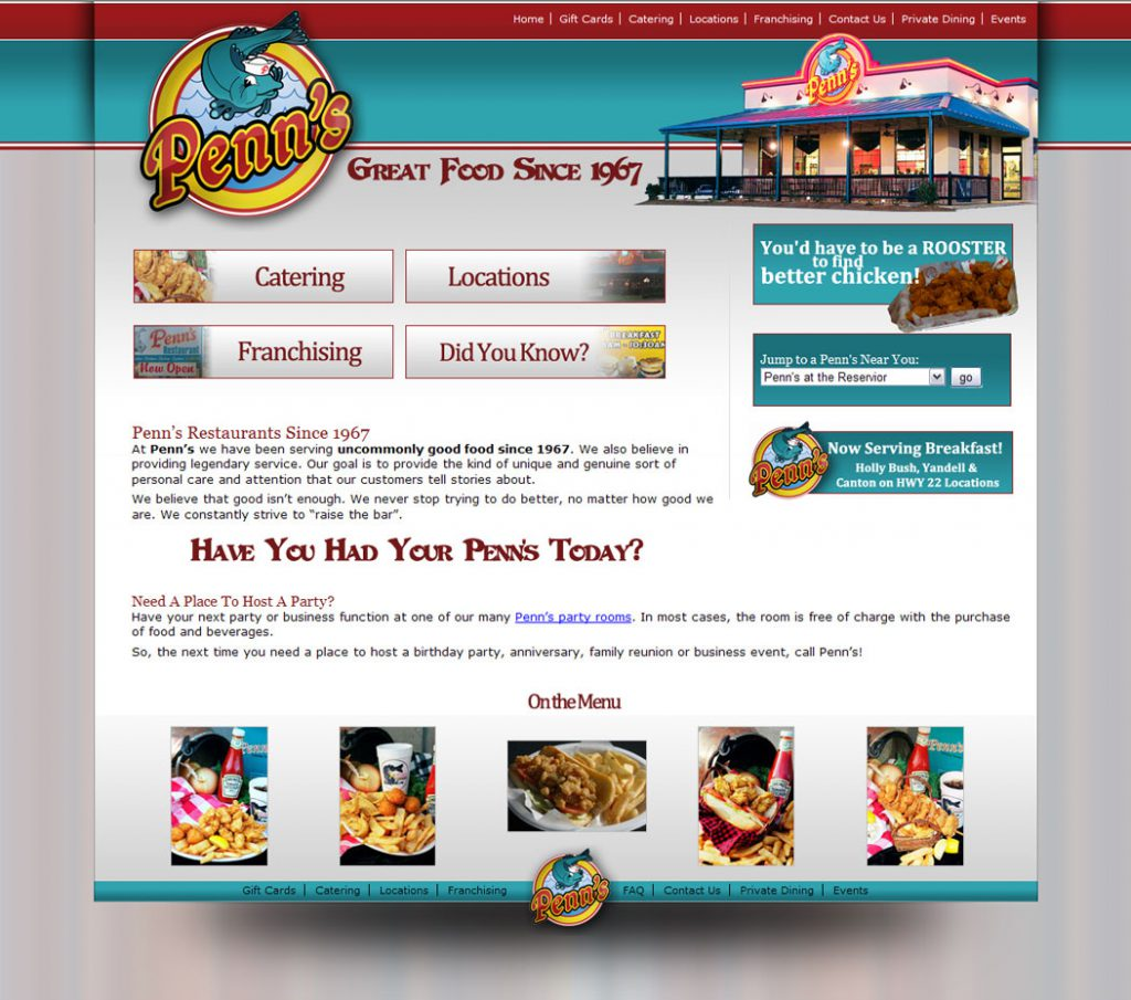 penns-restaurant-website