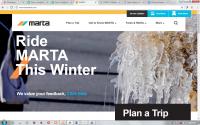 MARTA website redesign