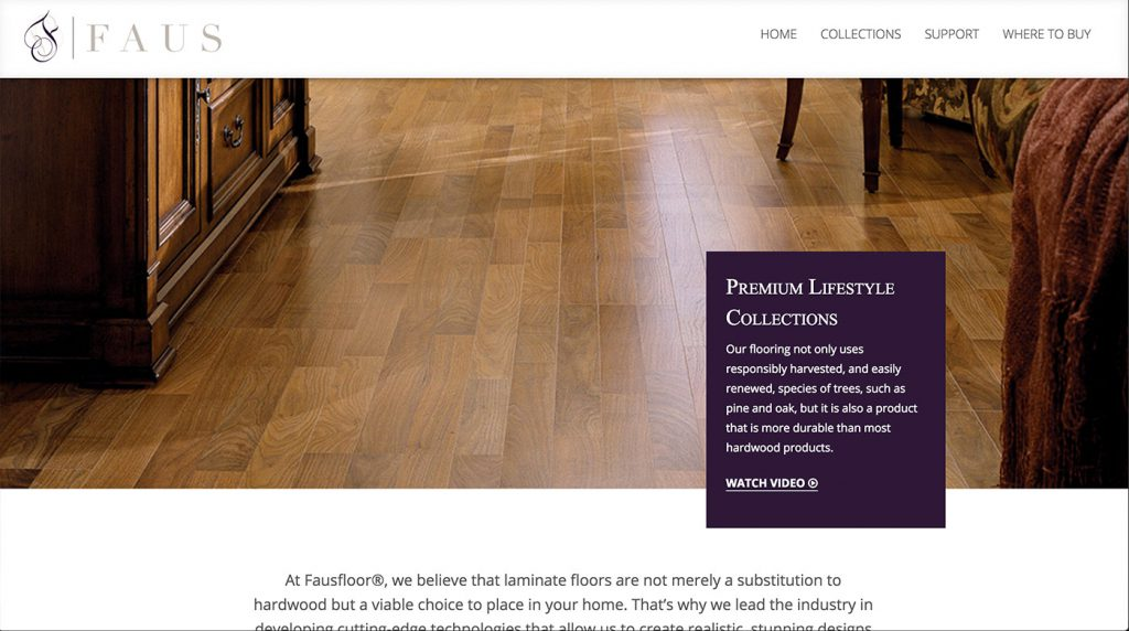 faus-floor-web-design