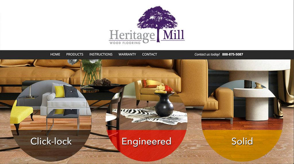heritage-mill-web-design