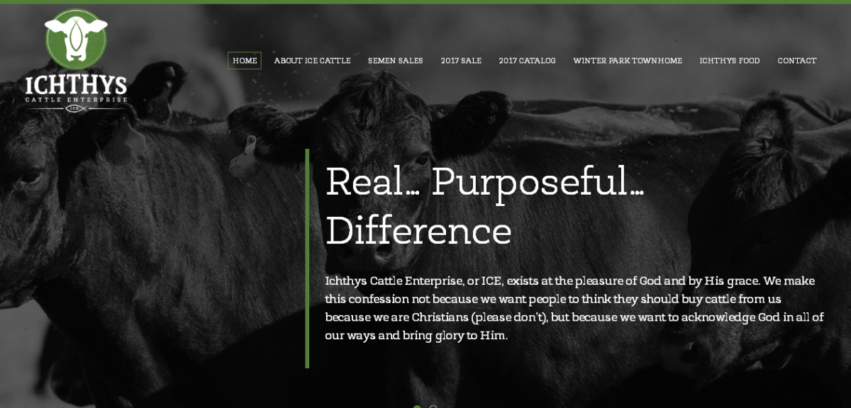 Ichthys Cattle Enterprise Website