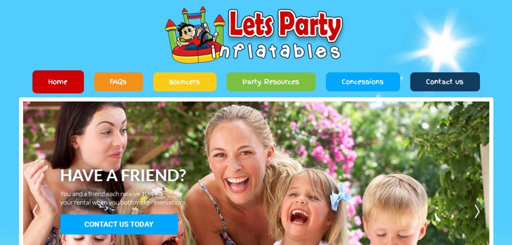 Let's Party Inflatables