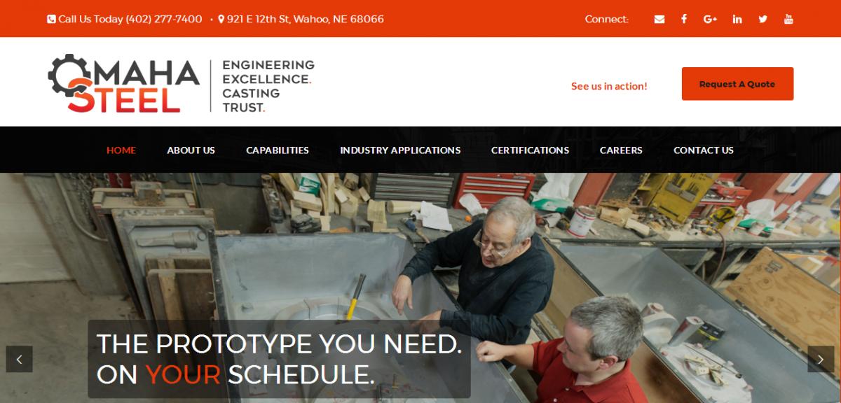 Omaha Steel | Website