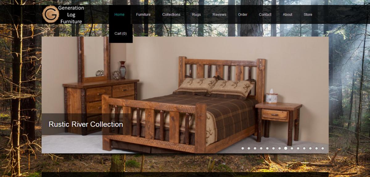 Generation Log Furniture