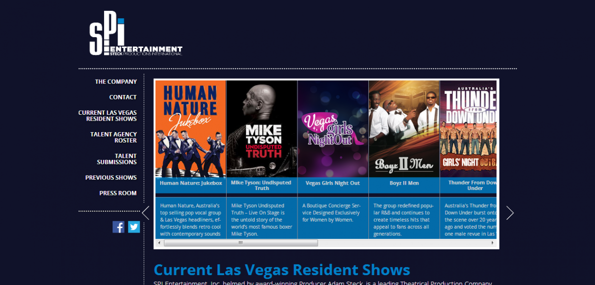 SPI Entertainment has been providing Las Vegas