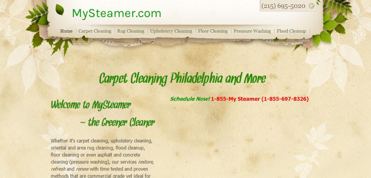 MySteamer, Philadelphia Carpet Cleaners